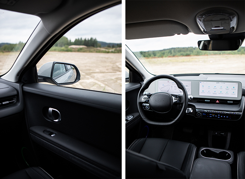 Hyundai Ioniq 5 sisätilat