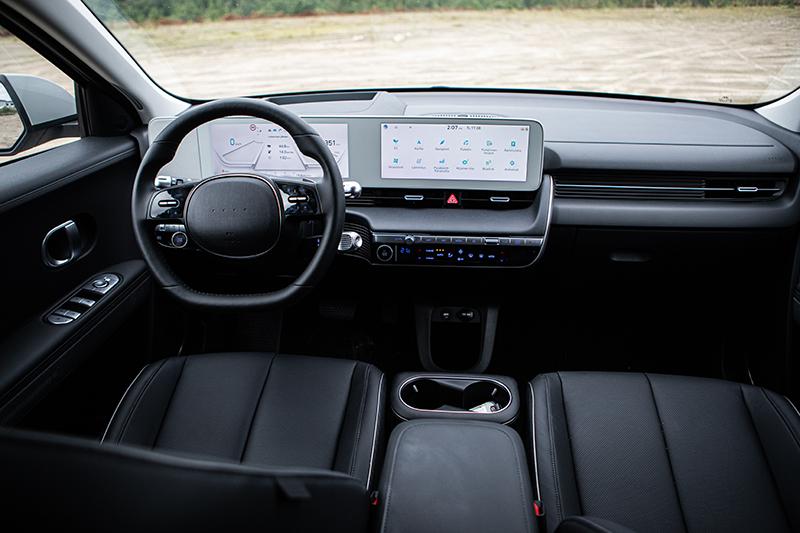 Hyundai Ioniq 5 sisältä