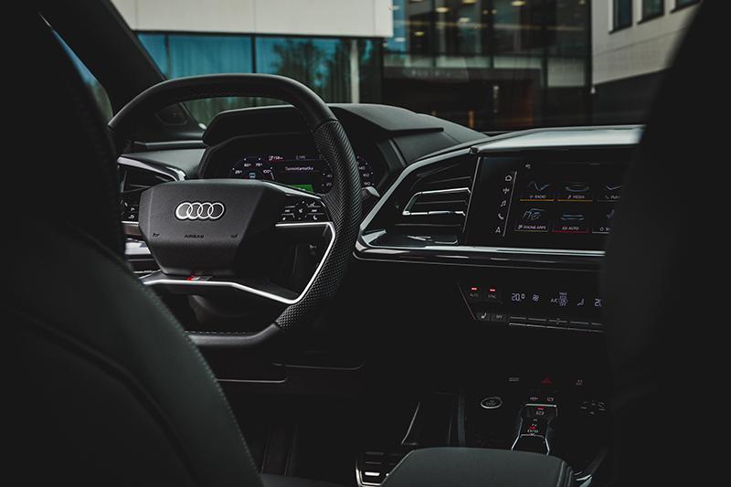 Audi Q4 sisätilat