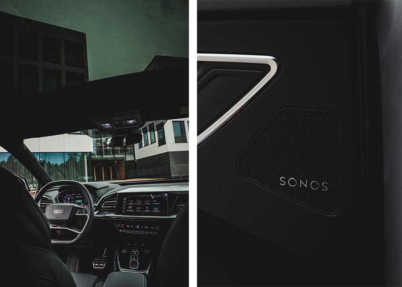 Audi Q4 äänentoisto