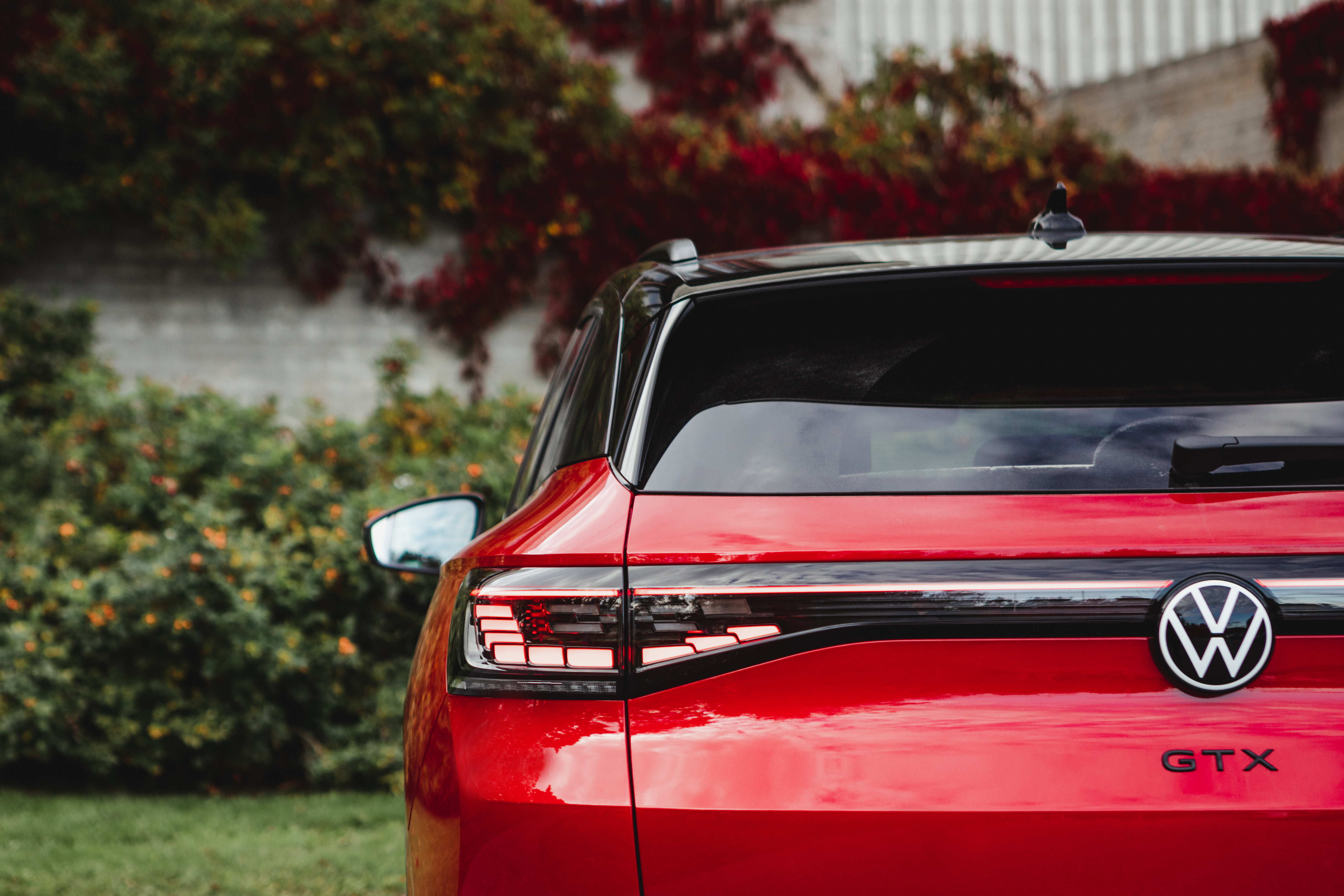 Volkswagen GTX punainen koeajo
