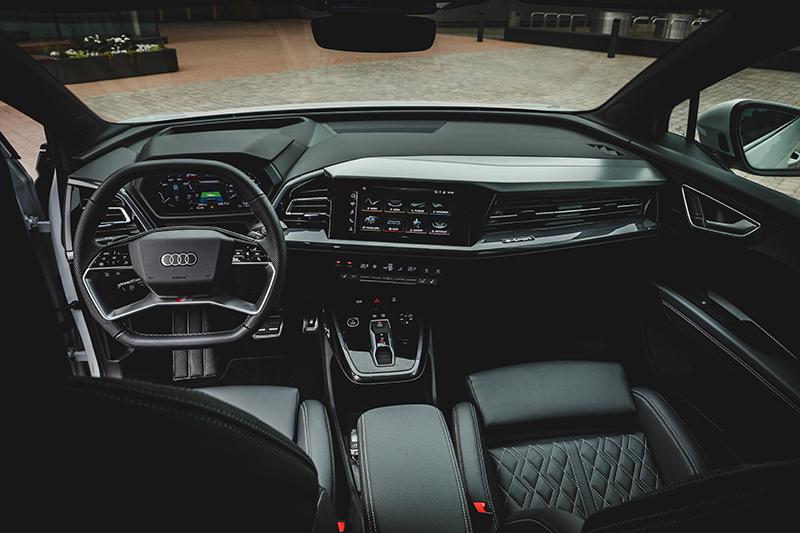 Audi Q4 sisäitilat