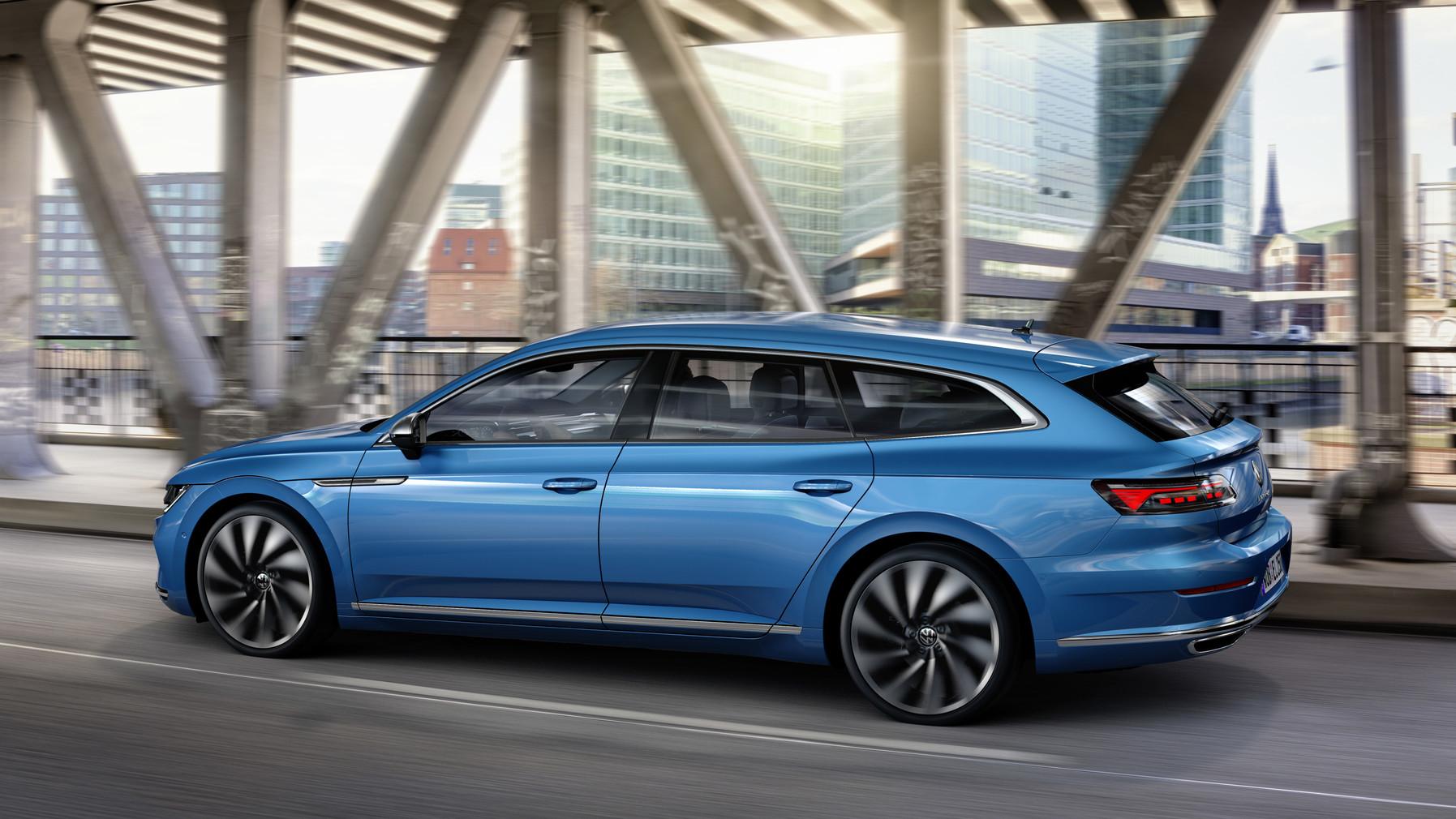 Volkswagen arteon shooting brake jyväskylä linja